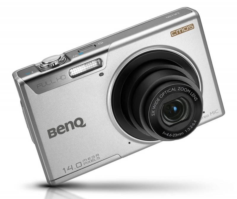 Фотоаппарат Benq LR100 серебристый - фото 4