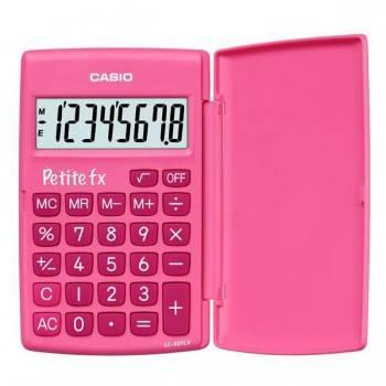 Калькулятор Casio LC-401LV-PK розовый 8-разр.