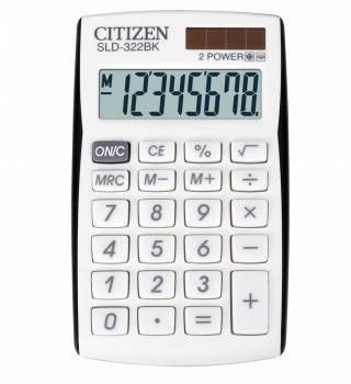 Калькулятор Citizen SLD-322BK черный 8-разр.