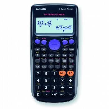 Калькулятор Casio FX-82ES PLUS черный 12-разр.