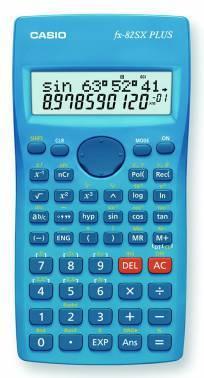Калькулятор научный Casio FX-82SX Plus синий (FX-82SXPLUS)