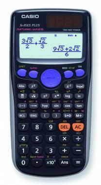 Калькулятор научный Casio FX-85ES PLUS черный (FX-85ESPLUS)