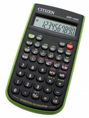 Калькулятор Citizen SRP-145NGR черный 10-разр.