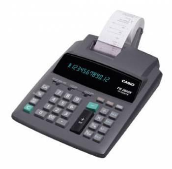 Калькулятор Casio FR-2650T серый 12-разр.