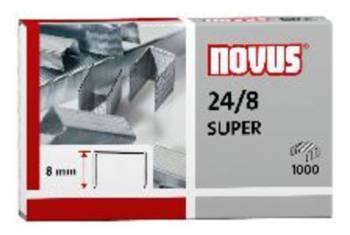 Скобы для степлера 24 / 8 Novus 040-0038 super