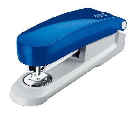 Степлер Novus E20 синий/серый - фото 1