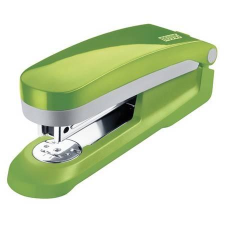 Степлер Novus E25 fresh зеленый/серый - фото 1