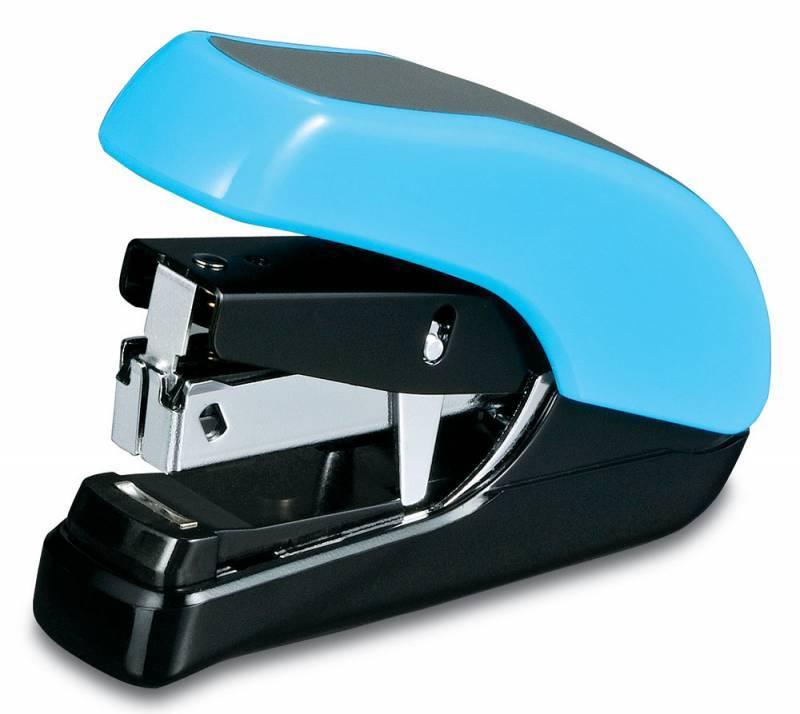 Степлер Kw-Trio Lever-Tech Mini голубой - фото 1