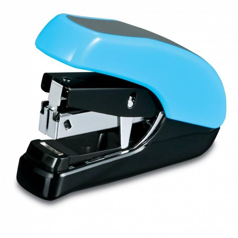 Степлер Kw-Trio Lever-Tech Mini голубой - фото 2