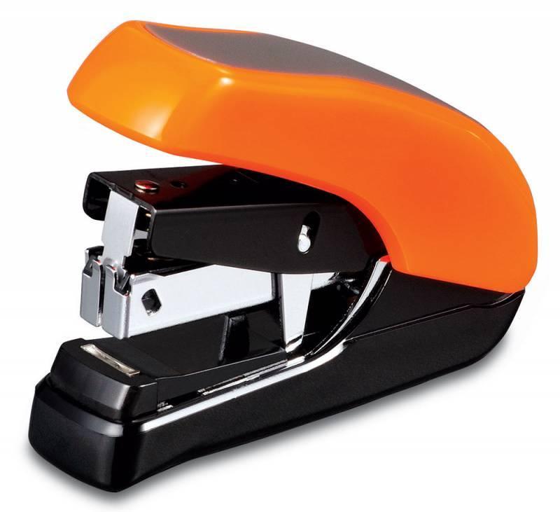 Степлер Kw-Trio Lever-Tech mini оранжевый - фото 1