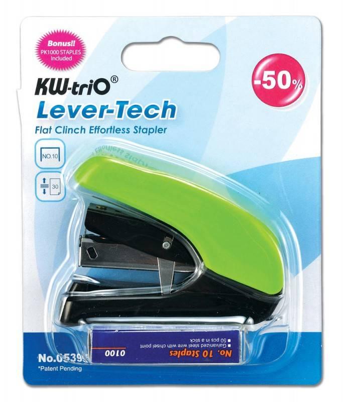 Степлер Kw-Trio Lever-Tech mini ассорти - фото 6