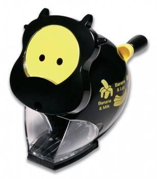 Точилка для карандашей Kw-Trio 30RA Корова черный / желтый