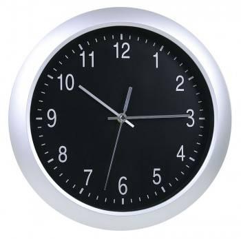 Настенные часы Бюрократ WallC-R02P аналоговые серебристый