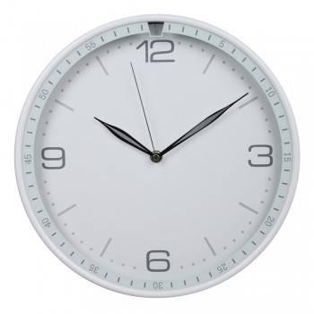 Настенные часы Бюрократ WallC-R06P белый (WALLC-R06P/WHITE)