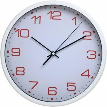 Настенные часы Бюрократ WallC-R07P аналоговые белый