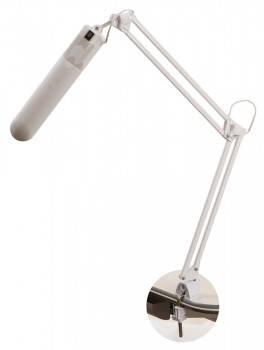 Светильник настольный Трансвит Delta1 на струбцине люминесцентная G23 (люминесцентная) белый 11Вт металл/пластик