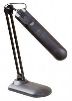 Светильник настольный Трансвит Delta1U на подставке люминесцентная G23 (люминесцентная) черный 11Вт металл/пластик
