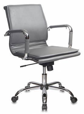 Кресло руководителя Бюрократ CH-993-Low серый (CH-993-Low/grey)