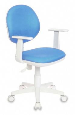 Кресло детское Бюрократ CH-W356AXSN голубой (CH-W356AXSN/15-107)