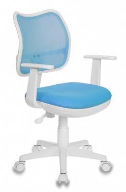 Кресло детское Бюрократ CH-W797 / LB / TW-55 голубой