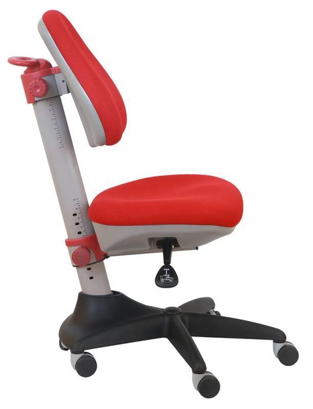 Кресло детское Бюрократ KD-2 красный - фото 2