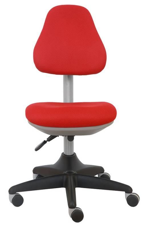 Кресло детское Бюрократ KD-2 красный - фото 3