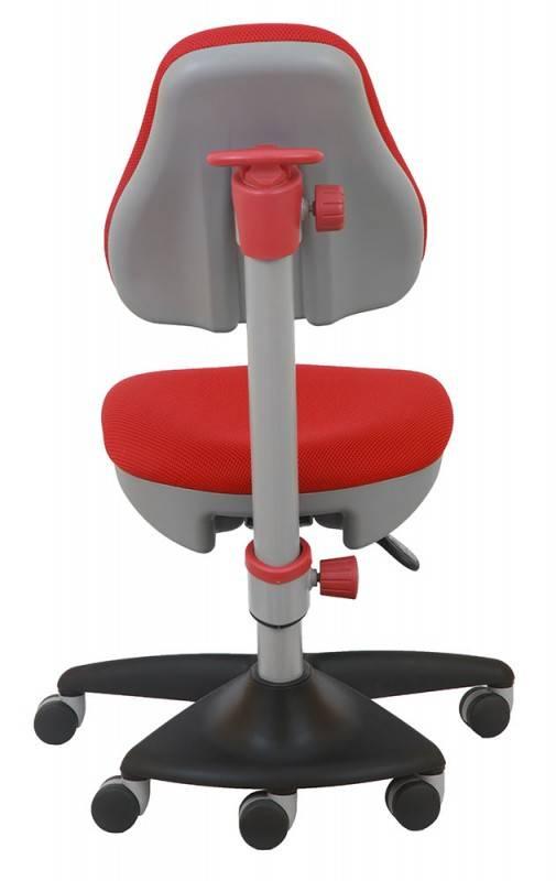 Кресло детское Бюрократ KD-2 красный - фото 4