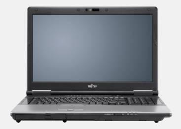 "Ноутбук 17"" Fujitsu H920 серый - фото 1"