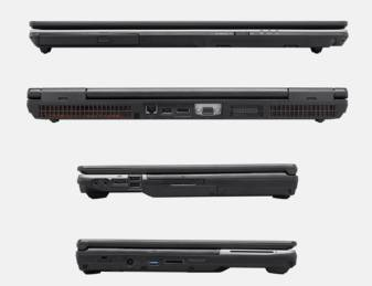 "Ноутбук 17"" Fujitsu H920 серый - фото 4"