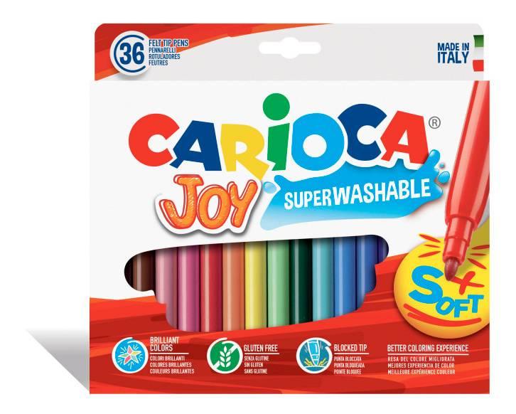 Фломастеры Carioca Joy 36цв. (40556) - фото 1
