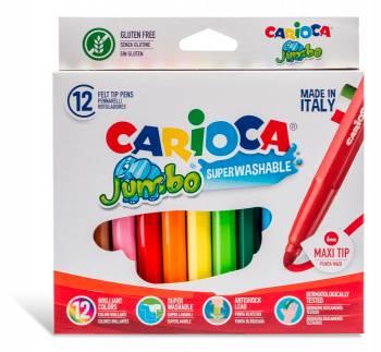 Фломастеры Carioca JUMBO 12цв. (40565)