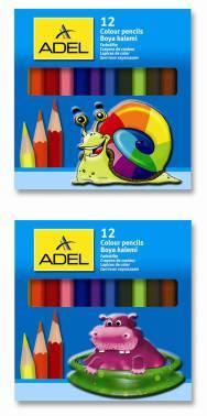 Карандаши цветные Adel Colour 12цв. (211-2325-000)