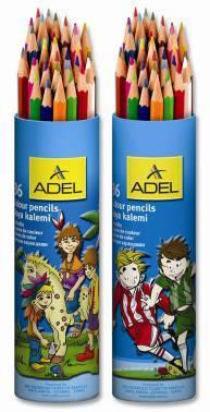 Карандаши цветные ADEL Colour