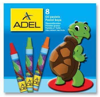 Масляная пастель Adel Colour 8 цветов (228-0811-000)