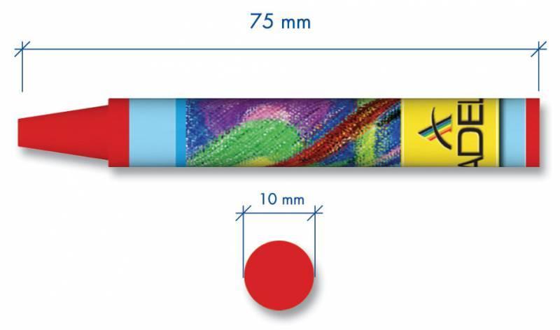 Масляная пастель Adel Colour 8 цветов (228-0811-000) - фото 2