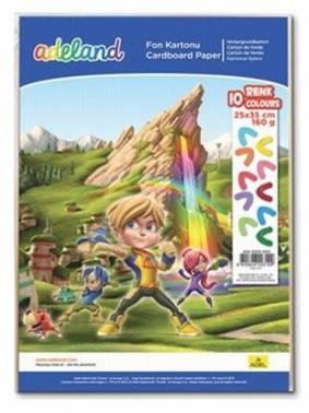Набор цветного картона ADEL 434-3030-000