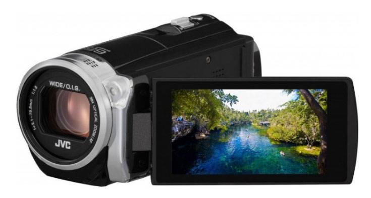 Видеокамера JVC GZ-EX510 черный - фото 2