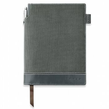 Записная книжка Cross Journal Textured серый