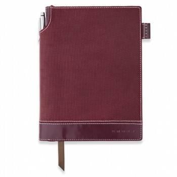 Записная книжка Cross Journal Textured бордовый