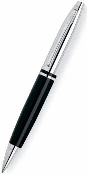 Ручка шариковая Cross Calais Chrome / Black