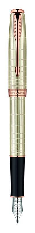 Ручка перьевая Parker Sonnet F535 Feminine Silver PGT (1859488_S) - фото 1