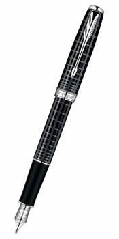 Ручка перьевая Parker Sonnet F531 Dark Grey Laquer CT (S0912390)