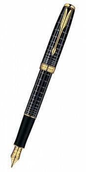 Ручка перьевая Parker Sonnet F531 Dark Grey Laquer GT (S0912440)