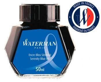 Флакон с чернилами Waterman голубые чернила 50мл (s0110810)