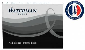 Картридж Waterman черный чернила (8шт) (S0110850)