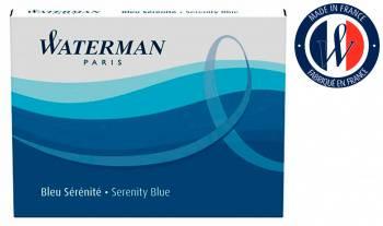 Картридж Waterman синие чернила (8шт) (S0110860)