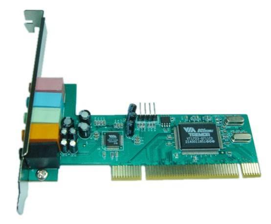 Звуковая карта PCI VIA Tremor (VIA VT1723) 5.1 bulk - фото 1