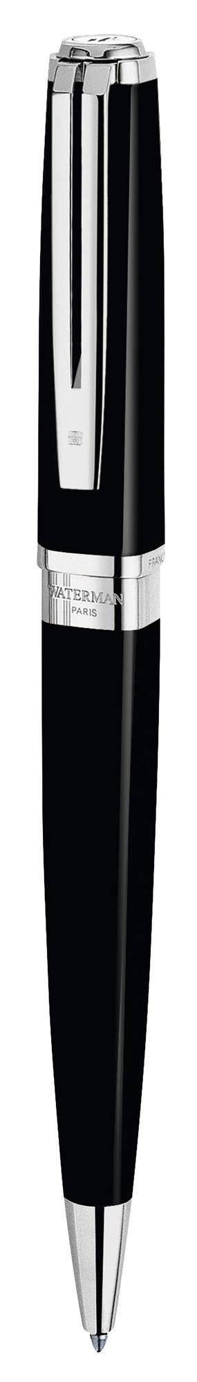 Ручка шариковая Waterman Exception Slim Black ST (S0637040) - фото 1