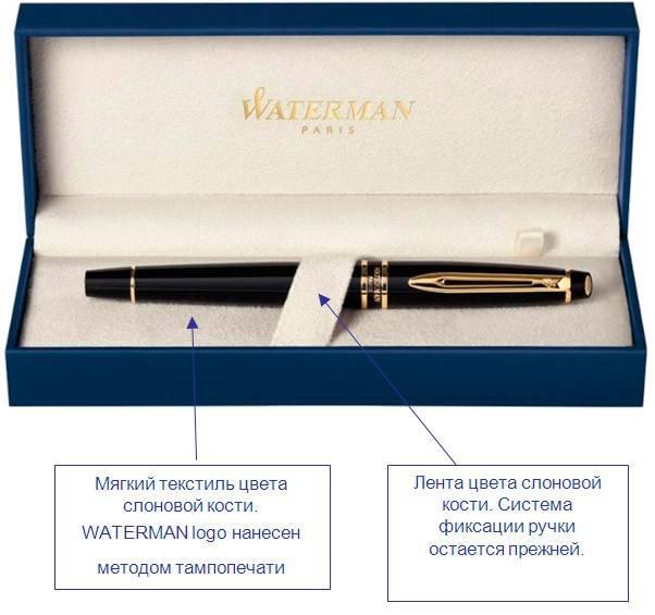 Ручка перьевая Waterman Elegance Black GT (S0898610) - фото 7
