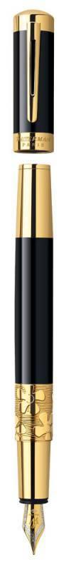 Ручка перьевая Waterman Elegance Black GT (S0898610) - фото 3